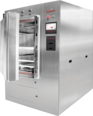 69 Horizontal Autoclave Sterilizer with Automatic Hinged Door for Laboratories - Tuttnauer